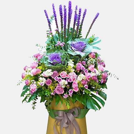 Autumn Energy Floral Arrangement: Grand Opening Flowers