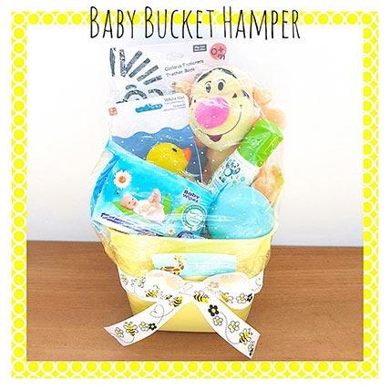Baby Bucket Hamper: Gift Hampers