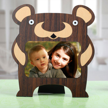 Bear Personalized Photo Frame: Personalised Photo Frames
