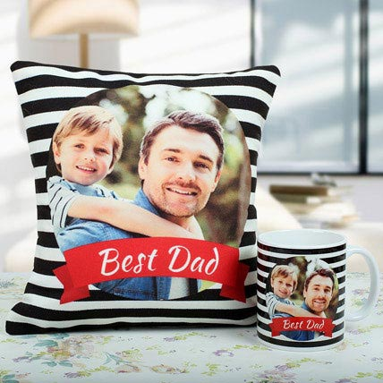 Best Dad Cushion And Mug Combo: Gifts for Parents