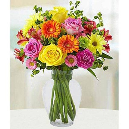 Colorful Bouquet: Birthday Gifts