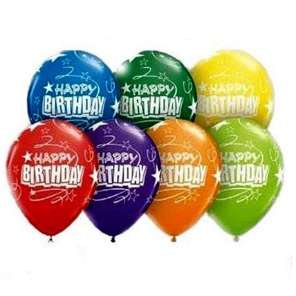Happy Birthday Helium Balloons: Balloons