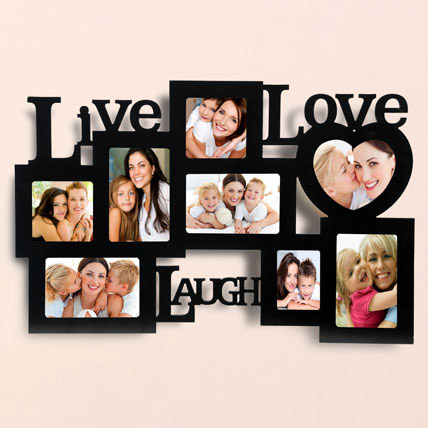 Live Love Laugh Photo Frame: Personalised Gifts Singapore