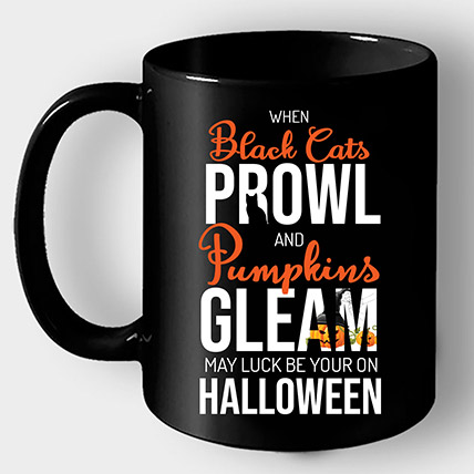 Luck Be Your Halloween Mug: Halloween Gifts