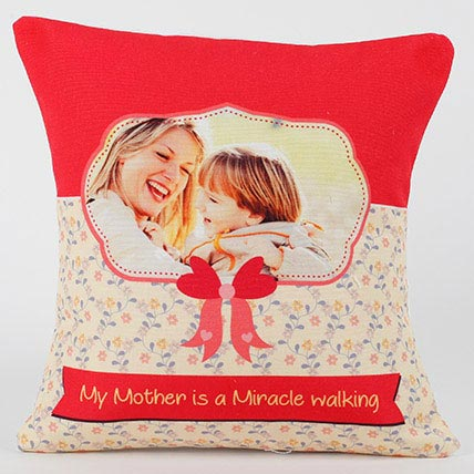 Mom Special Personalized Cushion: Gifts For Mom Dad