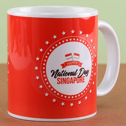 National Day Singapore Mug: National Day Gifts
