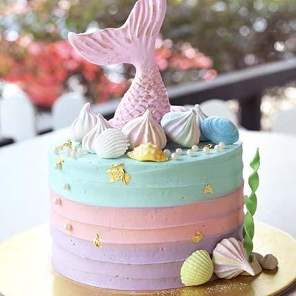 Signature Mermaid Cake- 4.5 inches: Cakes