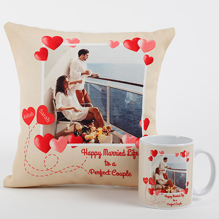 Perfect Love Personalized Combo: Personalised Gifts for Husband