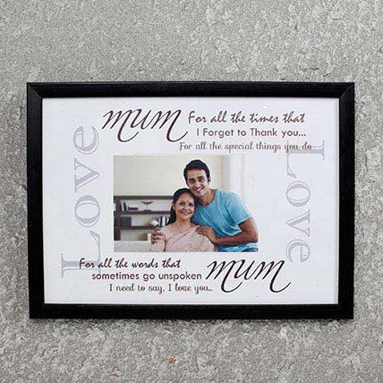 Personalized Frame For Mom Black: Unique Gift Ideas