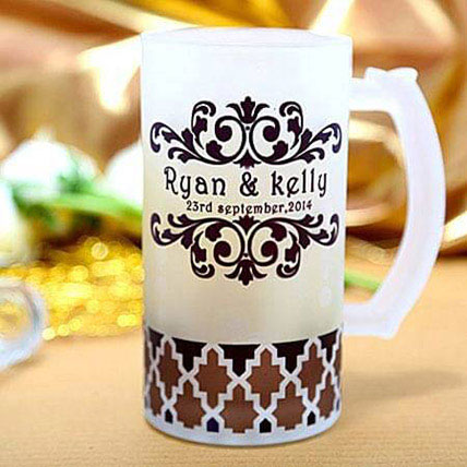 Special Personalize Beer Mug: Personalised Anniversary Gifts