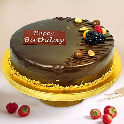 Chocolate Cake: Birthday Cakes