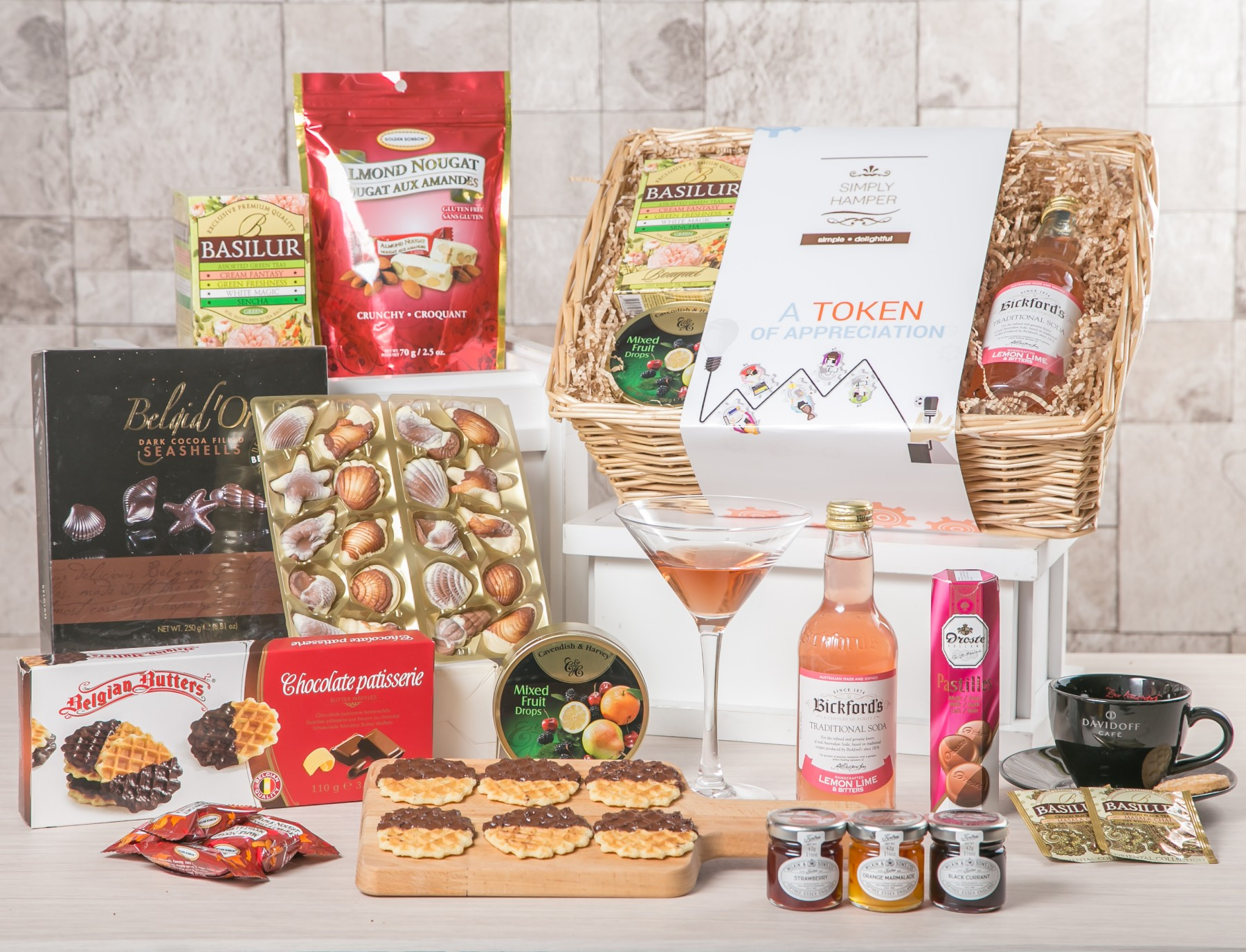 Delight (Non-alcoholic): Get Well Hampers