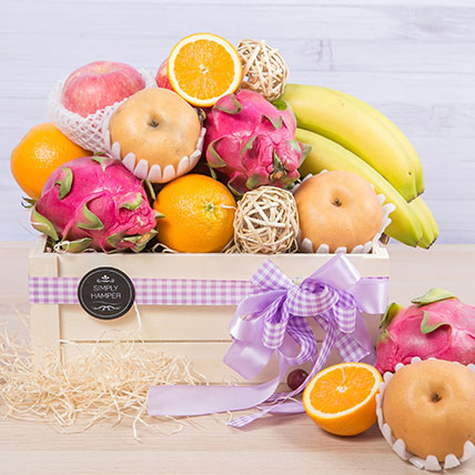 Box of Fruity Goodness: Fruit Hampers