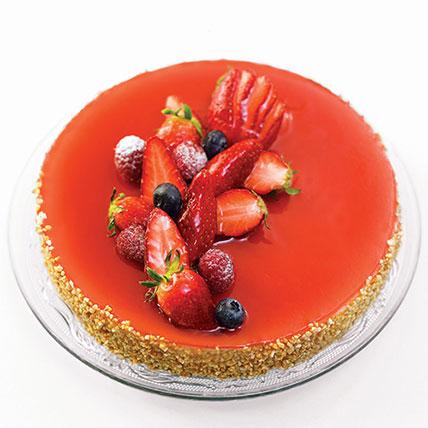 New York Cheesecake: Fruit Cakes
