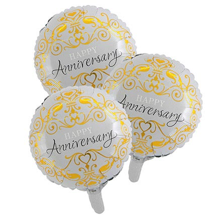 Happy Anniversary Foil Balloons: Balloons Delivery