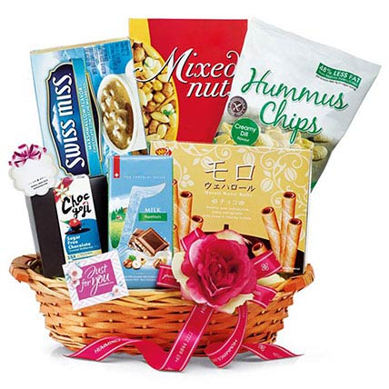 Appetizing Chocolate Hamper: