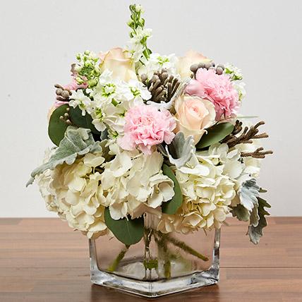 Enchanting Flower Vase Arrangement: Flowers For Wedding