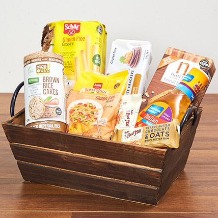 Gluten Free Snack Hamper: Birthday Hampers