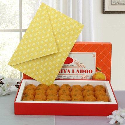 Box of Motichoor Laddoo: Deepavali Sweets