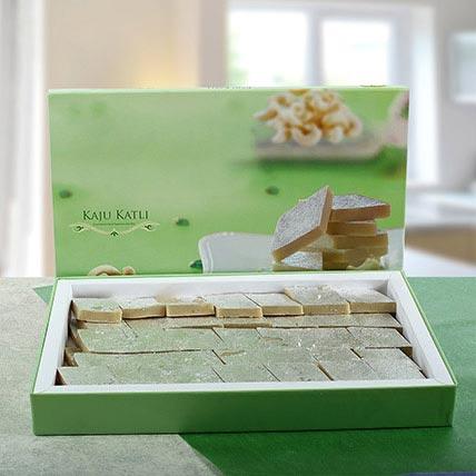 Delicious Kaju Barfi: Deepavali Gift