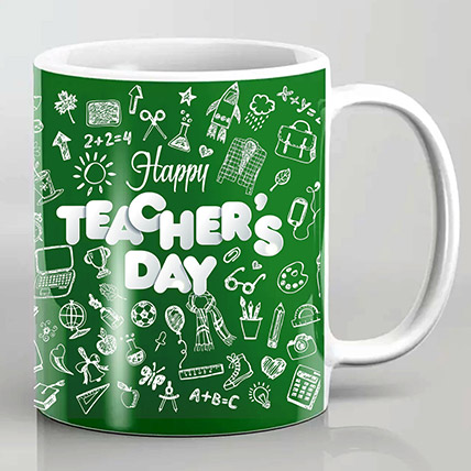 Happy Teachers Day Mug: Teachers Day gifts