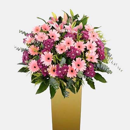 Arrangement Of Royal Flowers: Grand Opening Flowers