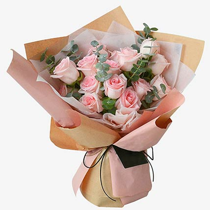 Soft Pink Roses: New Arrival Gifts