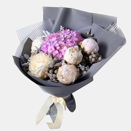 Abundance Of Floral Love Posy: Peony Bouquets