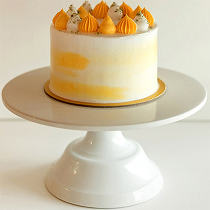5in Round Banana Vanilla Cake: Eggless Birthday Cakes