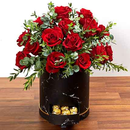 30 Roses Box Arrangement: New Arrival Products