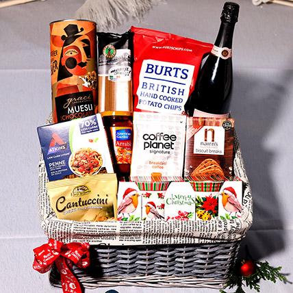 Christmas Surprise Snack Basket: Xmas Hampers