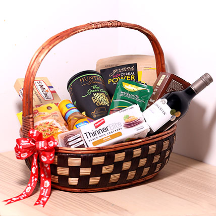 Delectable Snack Gift Basket: Cookies Singapore