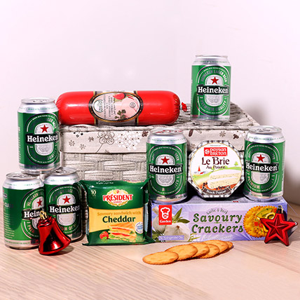 Beer And Snack Gift Hamper: Gift Hampers