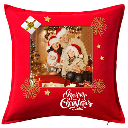 Personalised Xmas Greetings Cushion: Christmas Gift Ideas