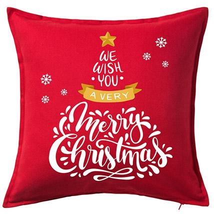 Xmas Greetings Cushion: Christmas Cushions