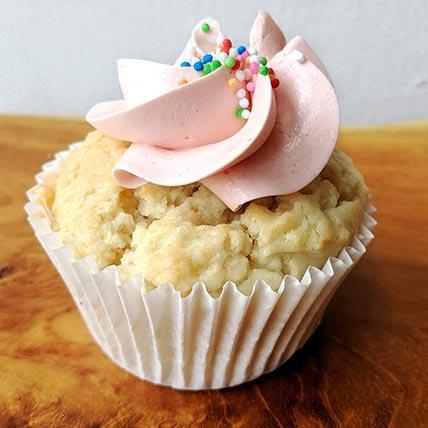 Vegab Vanilla Strawberry Cupcakes: Cupcakes Singapore