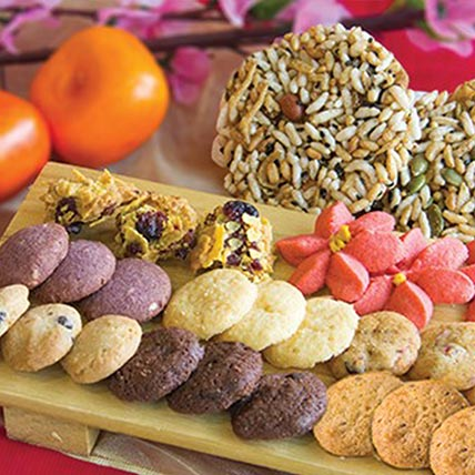 Golden Flakes Cookies: Chinese New Year Cake