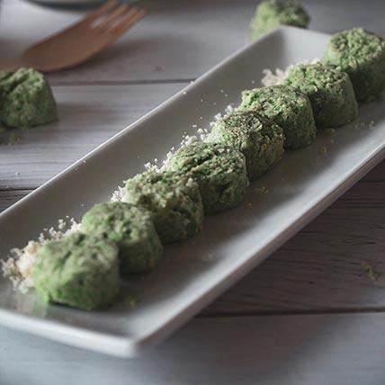 Vegan Green Pea Cookies: CNY Cakes