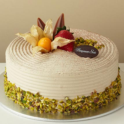 Coffee Avocado Cake: Birthday Cake