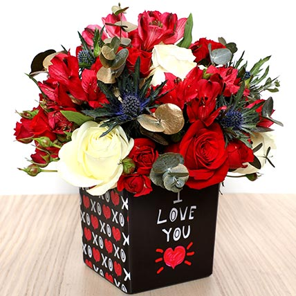I Love You Flower Vase: New Arrival Products