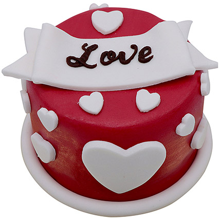 6 Inches Special Love Cake For Valentines Day:
