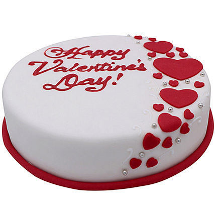 6 Inches Valentines Cake: