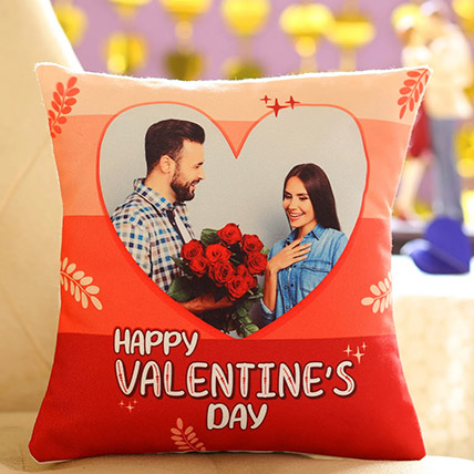 Happy Valentines Personalised Cushion: Valentines Day Gifts for Husband