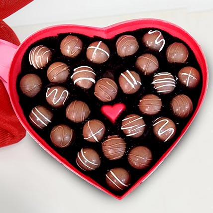 Heart Shape Valentine Chocolates: Valentines Day Gifts