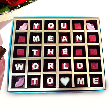 Mouth Watering Valentine Chocolates: Valentines Day Gifts