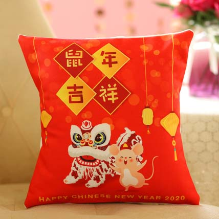 Happy Chinese New Year Cushion: Chinese New Year Gifts