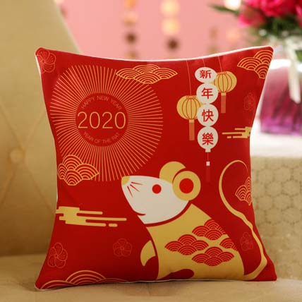 Rat Zodiac Cushion: Gifts For Couples