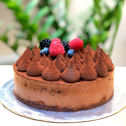 Chocolate Truffle Cream Cake: Cake Delivery Singapore