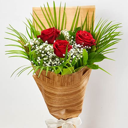 Magnificent Red Rose Bouquet: Birthday Bouquet