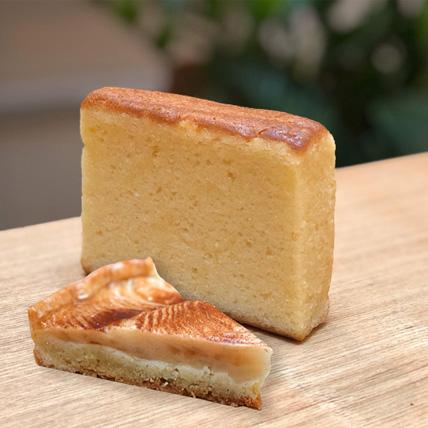 Butter Teacake  Cinnamon Apple Tart Combo: Tart Delivery